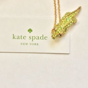 kate spade Jewelry - 🎈SALE🎈Kate spade gold tone alligator necklace